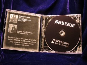 Burzum - Anthology - Lord of darkness CD - Click Image to Close