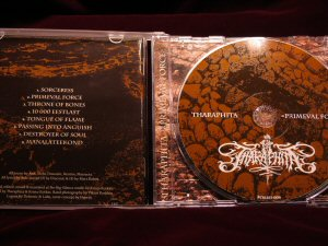 Tharaphita - Primeval Force CD - Click Image to Close