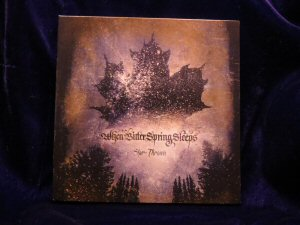 When Bitter Spring Sleeps - Star-Thrown CD Digipack - Click Image to Close